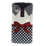 Bracevor Bowknot Design Hard Back Case for LG Google Nexus 5