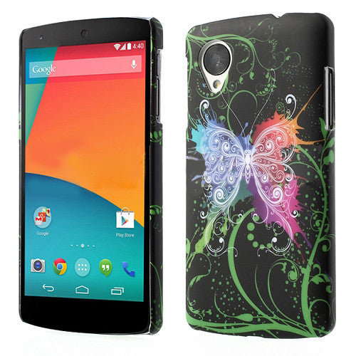 Bracevor Avatar Butterfly Design Hard Back Case for LG Google Nexus 5