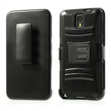 3 in 1 Hybrid  Armor Case with Belt clip holster for Samsung Galaxy Note 3 - Black