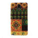 Tribal Art Design Hard Back Case Cover for Samsung Galaxy Note 3