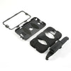 4 in 1 Heavy Duty Armor Case with Belt Clip holster for Samsung Galaxy S6