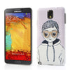 Bracevor Charming Boy with 3D glasses Hard Back Case Cover for Samsung Galaxy Note 3