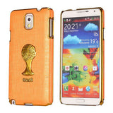Brazil Soccer World Cup Commemorative Edition PC Hard case for Samsung Galaxy Note 3 (Orange)