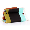 Bracevor Multi-color design Samsung Galaxy Note 2 N7100 Wallet Leather Case