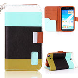 Multi-color design Samsung Galaxy Note 2 N7100 Wallet Leather Case