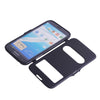 Bracevor PU Leather Window Case for Samsung Galaxy Note 2 N7100 - Grey