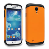 Flaming Orange Tough Armor Back Case for Samsung Galaxy S4 i9500