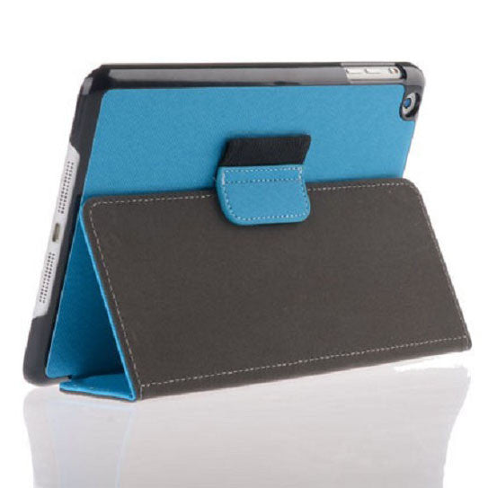 Bracevor Smart Leather Case with stylus holder for iPad mini 2 with Retina Display (Blue)