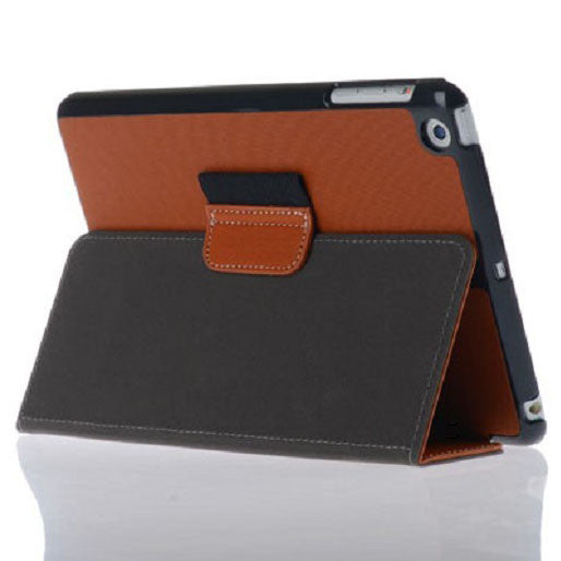 Bracevor Smart Leather Case with stylus holder for iPad mini 2 with Retina Display (Brown)
