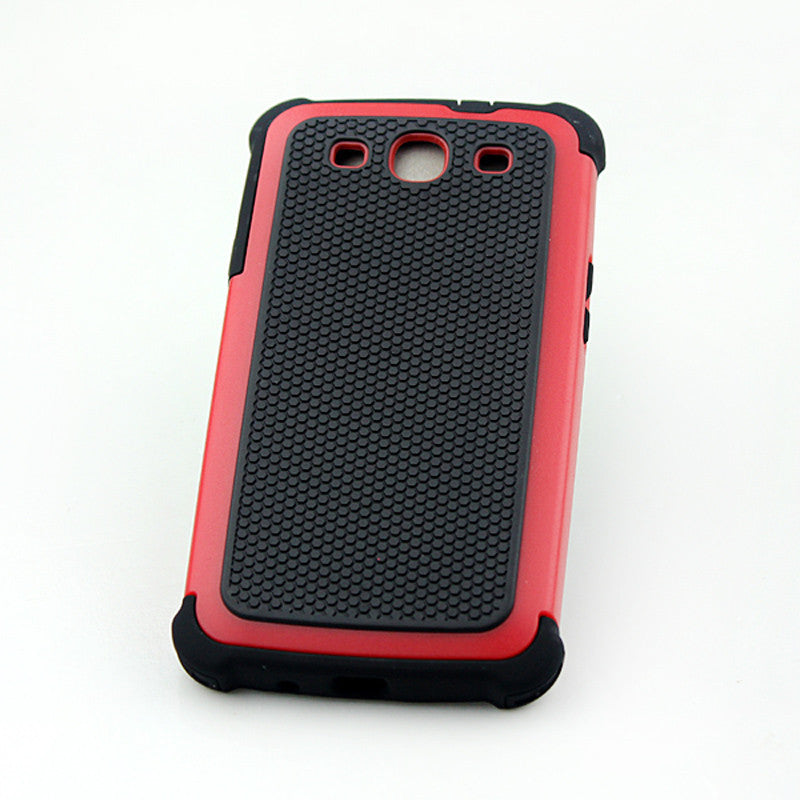 Bracevor Triple Layer Defender Back Case for Samsung Galaxy S3 i9300 - Red