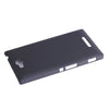 Bracevor Matte Sand Hard Case for Sony Xperia C S39h - Black