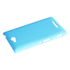 Bracevor Matte Sand Hard Case for Sony Xperia C S39h - Blue