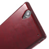 Bracevor Brushed TPU Gel Back Case Cover for Sony Xperia T2 Ultra (Red)