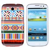 Aztec Art Design (Symbols) Hard Back Case Cover for Samsung Galaxy S3 i9300
