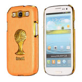 Brazil Soccer World Cup Commemorative Edition PC Hard case for Samsung Galaxy S3 I9300 (Orange)