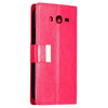 Bracevor Stylish Leather Wallet Case Cover for Samsung Galaxy Grand Neo i9060 and Grand Duos i9082 - Pink