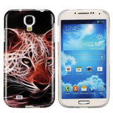 Ferocious Leopard Design Soft TPU Back Case Cover for Samsung Galaxy S4 I9500