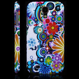 Floral Design Hard Back Case Cover for Samsung Galaxy S4 I9500