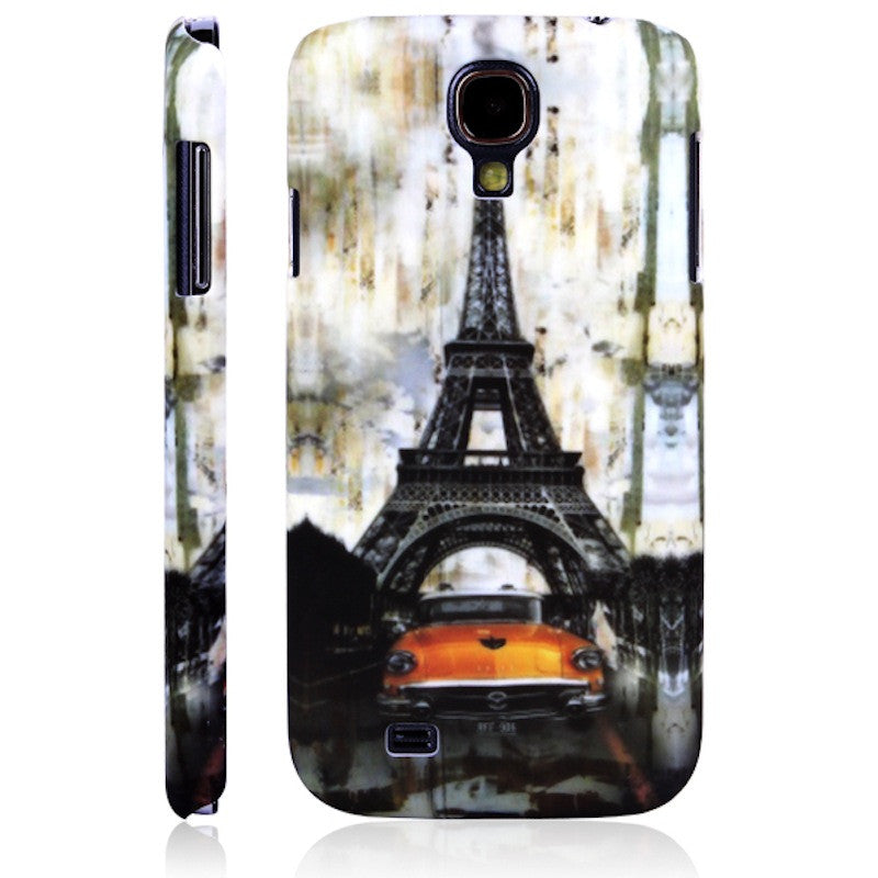 Bracevor Vintage Eiffel Tower Design Hard Back Case Cover for Samsung Galaxy S4 I9500 1