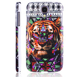 Artistic Tiger Design Hard Back Case Cover for Samsung Galaxy S4 I9500