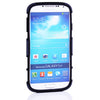 Bracevor 2 in 1 Hybrid Kick Stand Case for Samsung Galaxy S4 i9500 - Black