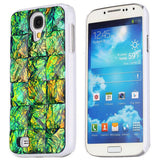 Sparkling Diamond split stone Hard Back Case for Samsung Galaxy S4 i9500 i9505 i9508 (Green)