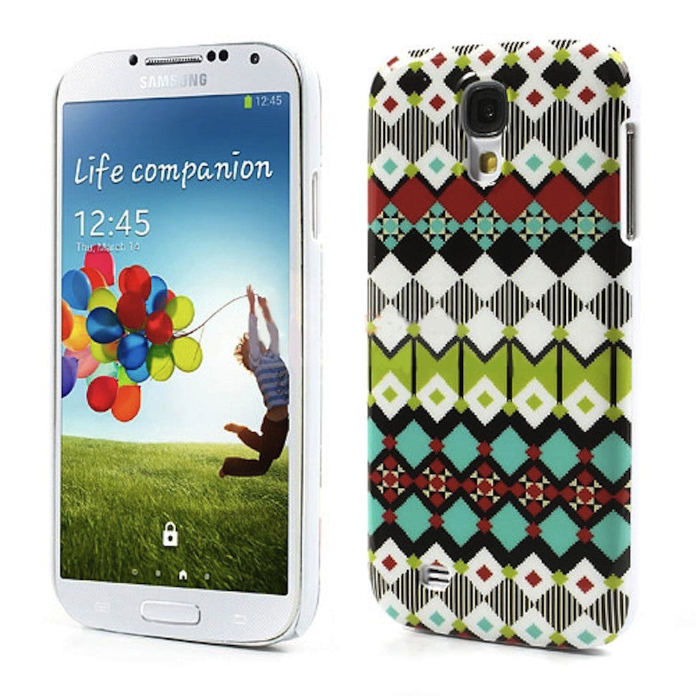 Bracevor Aztec Art Design Hard Back Case Cover for Samsung Galaxy S4 I9500 1