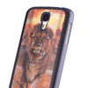 Bracevor 3D Lion and Tiger Hard Back Case for Samsung Galaxy S4 i9500