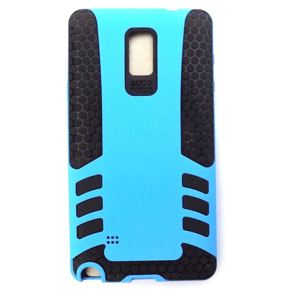 Bracevor Rocket Armor hybrid back Case Cover for Samsung Galaxy Note 4 - Blue