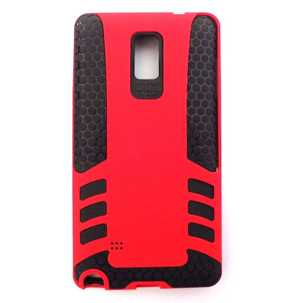 Bracevor Rocket Armor hybrid back Case Cover for Samsung Galaxy Note 4 - Red