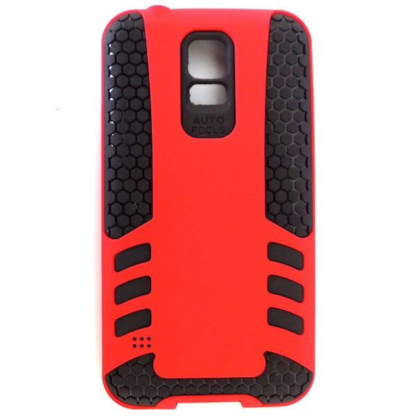 Bracevor Rocket Armor hybrid back Case Cover for Samsung Galaxy S5 - Red