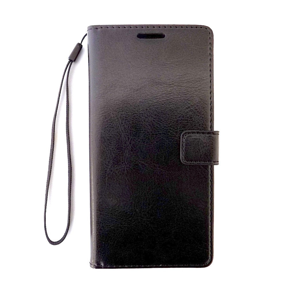 Bracevor Sony Xperia Z3 Wallet Leather Case Cover - Black