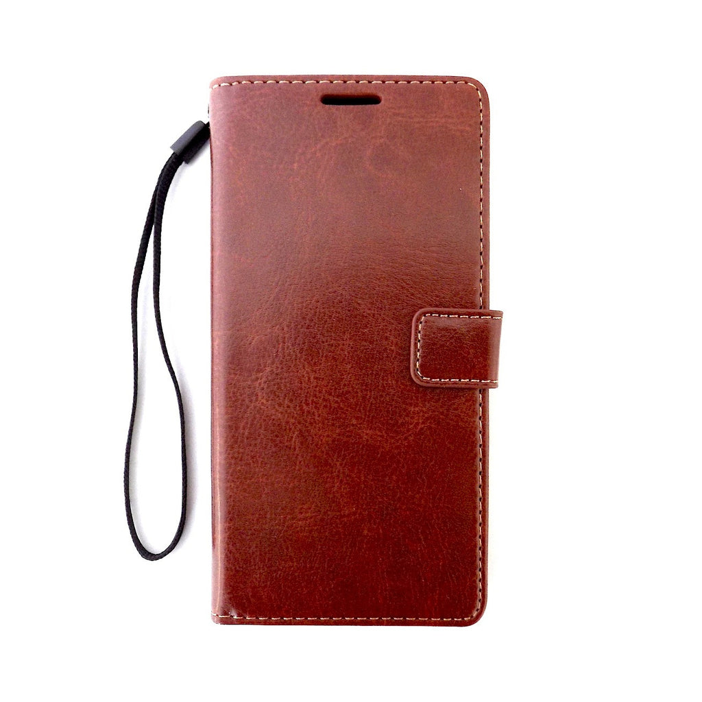 Bracevor Sony Xperia Z3 Wallet Leather Stand Case - Brown