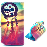 Dream Catchers Design Wallet Leather Flip Case for Motorola Moto G
