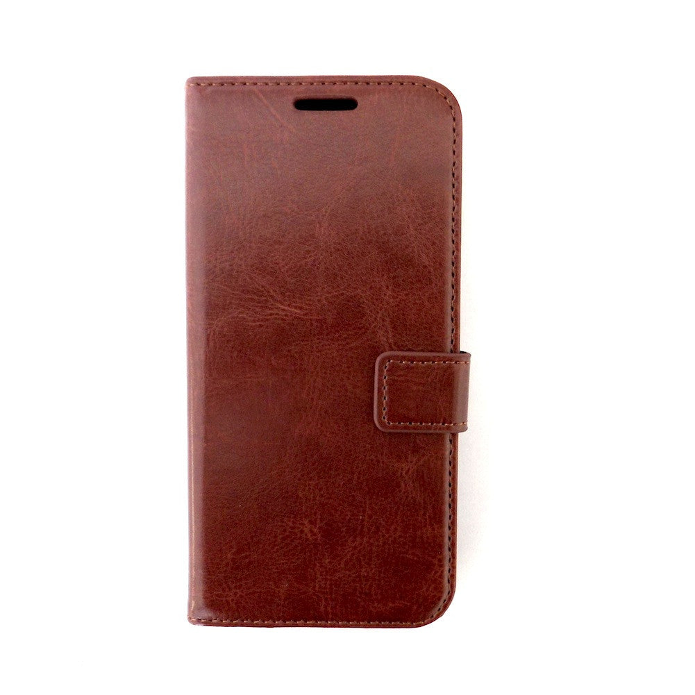 Bracevor HTC Butterfly 2 Wallet Leather Case Cover Brown