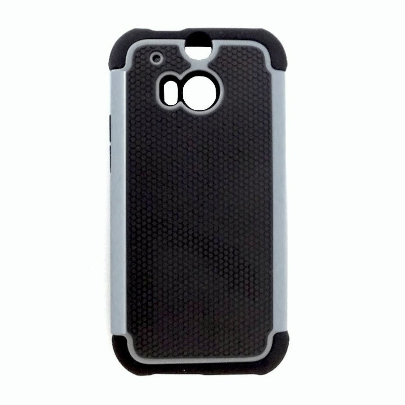 Bracevor Triple Layer Defender Back Case Cover for HTC One M8