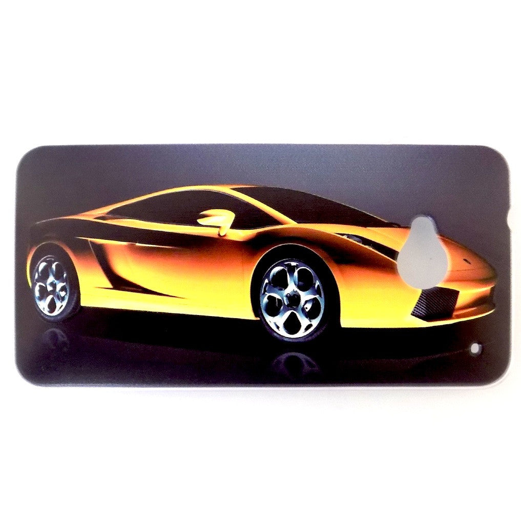 Bracevor Lamborghini Design Hard Back Case for HTC One M7 801e