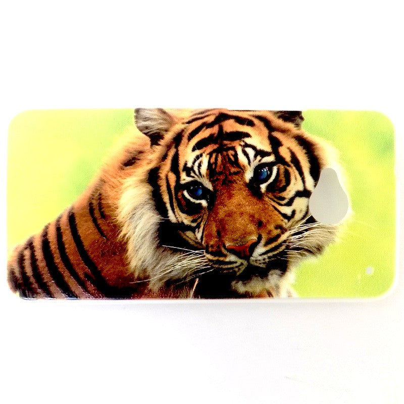 Bracevor Majestic Tiger Design Hard Back Case for HTC One M7 801e
