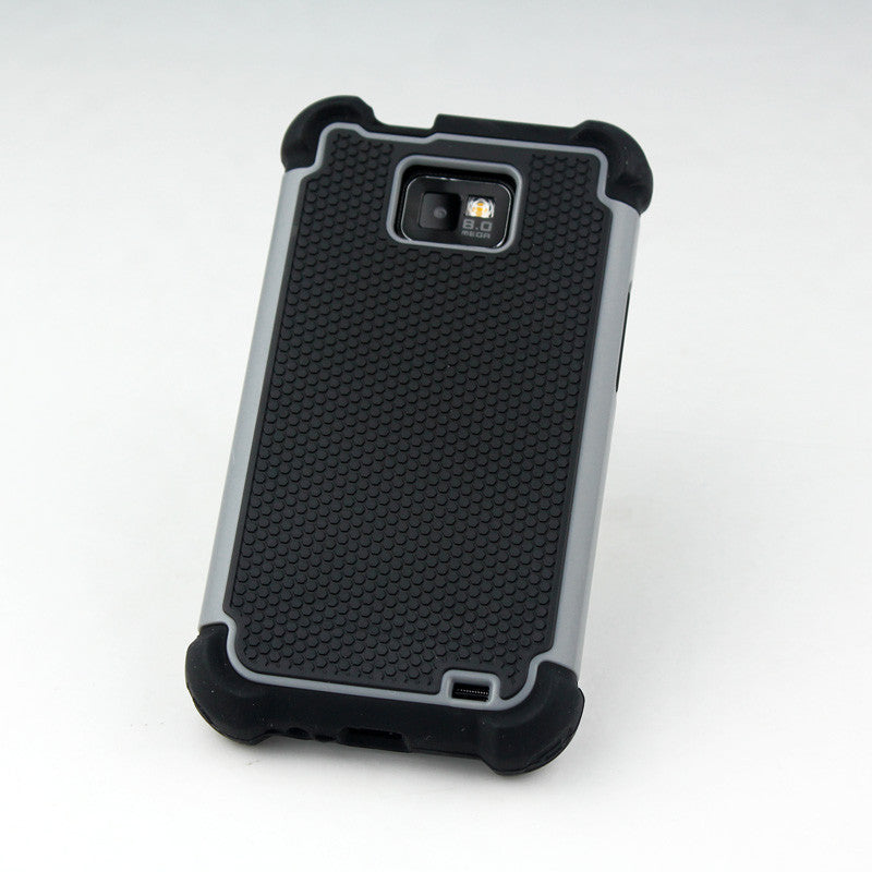 Triple Layer Defender Back Case for Samsung Galaxy S2 i9100