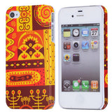 Mural Design Hard Back Case Cover for Apple iPhone 4 4s - Ethnic