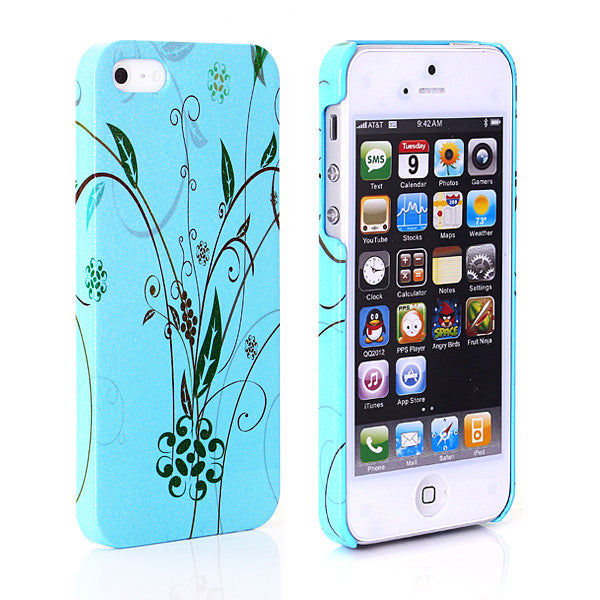 Glittering Luminous Designer Back case 502 for Apple iPhone 5 5s