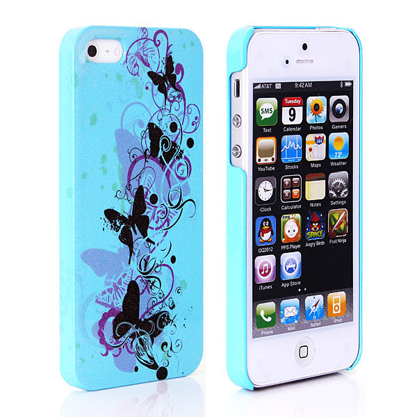 Glittering Luminous Designer Back case 503 for Apple iPhone 5 5s