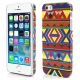 Aztec Art Design Hard Back Case Cover for Apple iPhone 5 5s (Geometry)