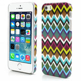 Aztec Art Design Hard Back Case Cover for Apple iPhone 5 5s (Waves)