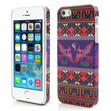 Aztec Art Design Hard Back Case Cover for Apple iPhone 5 5s (Mural)