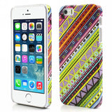 Aztec Art Design Hard Back Case Cover for Apple iPhone 5 5s (Retro)