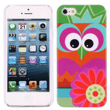Super Cute Owl Design 501 Hard Back Case Cover for Apple iPhone 5 5s