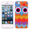 Super Cute Owl Design 502 Hard Back Case Cover for Apple iPhone 5 5s