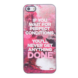 Bracevor Quotes Design Aluminium PC back case for iPhone 5 5s - Things