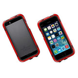Waterproof extreme protective PC Hard case for iPhone 5 5s - Red